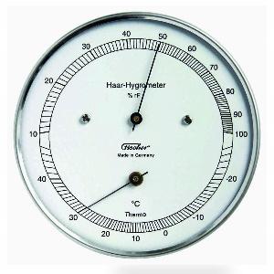 Ein Absorbtionshygrometer mit 2 Nadeln