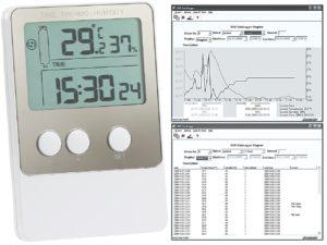 Hygrometer mit Software